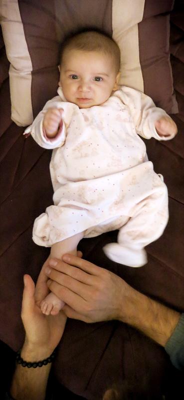 Réflexologie pour les bébés